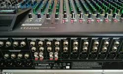 Yamaha mixing console MGP 24 X 1 year old. only church