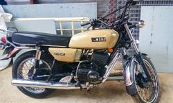 rx 100 Good condition Full papet clear New sd tyres new