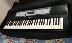 Yamaha PSR E-213 very good and smooth condition, with