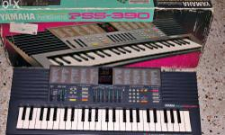 EXCELLENT CONDITION Yamaha PSS 390 Synthesizer (MADE IN