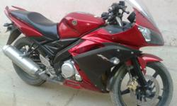 YAMAHA R-15 GOOD CONDITIONS BIKE WITH NEW TYERS