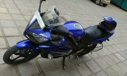 Yamaha R15 blue bike for sale in good condition &