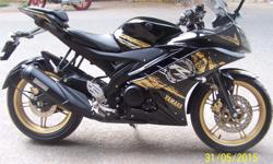 YAMAHA R15 Black Gold Limited Edition Oct. 2014 model