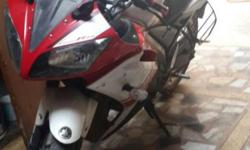 Yamaha r15 red&black color new condition urgent sell