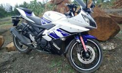 Yamaha R15 White Blue Special Edition Registration : 31