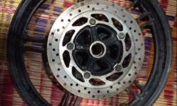 Yamaha R15s front wheel with disk 8 months useage only