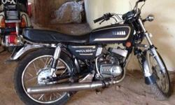 Bike is in a good condition, Japanese engine, one kick