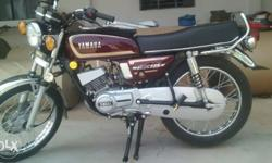 RX 135 showroom condition tn 39 reg fancy number 2