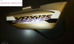 Hi , YAMAHA YBX 125 side pannel ( RH - GOLD - OE ) is
