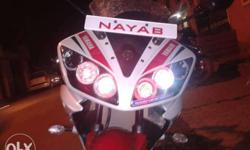 R15 angel eyes projector head lamps 3 ring angel eyes
