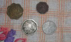 ye coins 10 pysa ke hai jo 1970 and 1958 eswi ka hai or