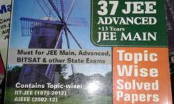 Years 37 JEE Advanced Textbook