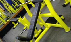 Yellow And Black Bench Press