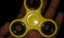Yellow And Black Fidget Hand Spinner