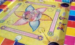 Yellow And White Carrom