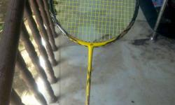 Racket strung with Bg 65 . Good condition.