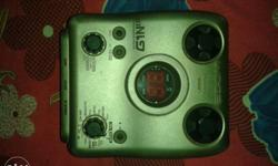 ZOOM G1next Well condition multiple guitar effect with